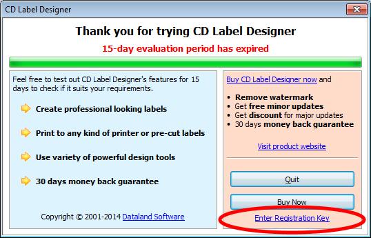 make a cd label online free