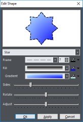 Shape editing